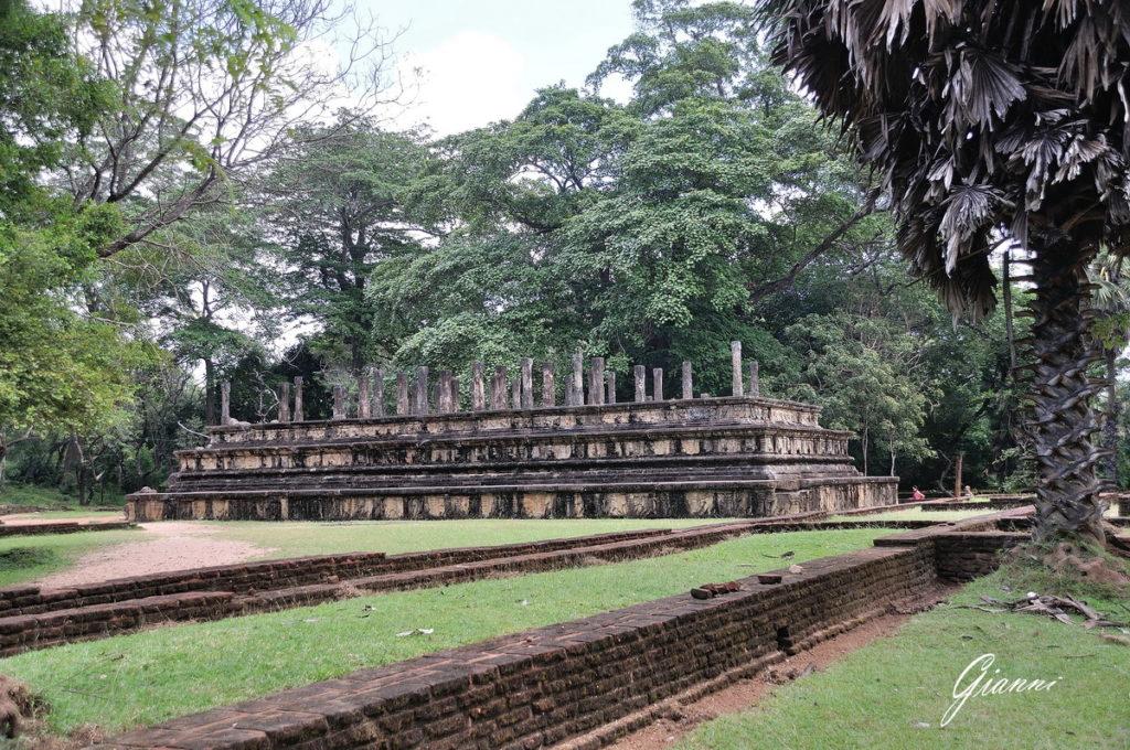 I resti dell'antica capitale