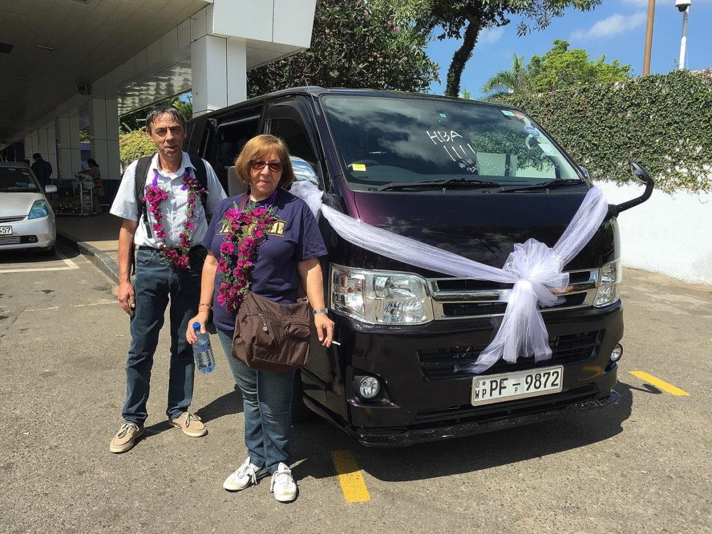 Il minibus per neosposi