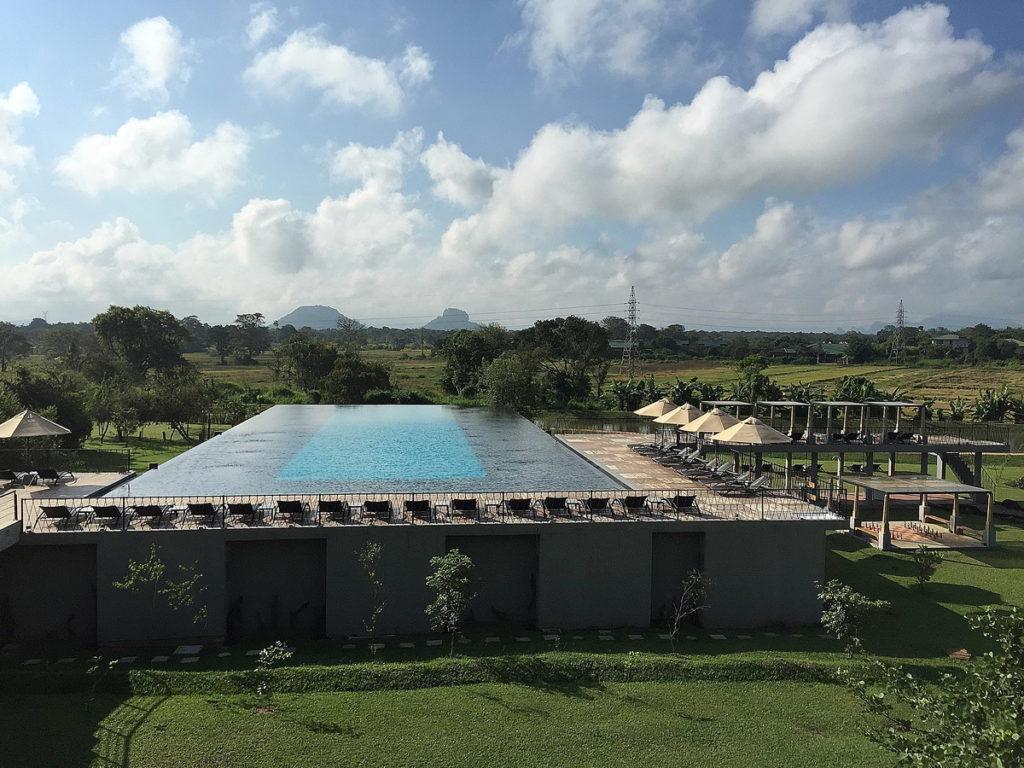 La piscina dell'Aliya Resort