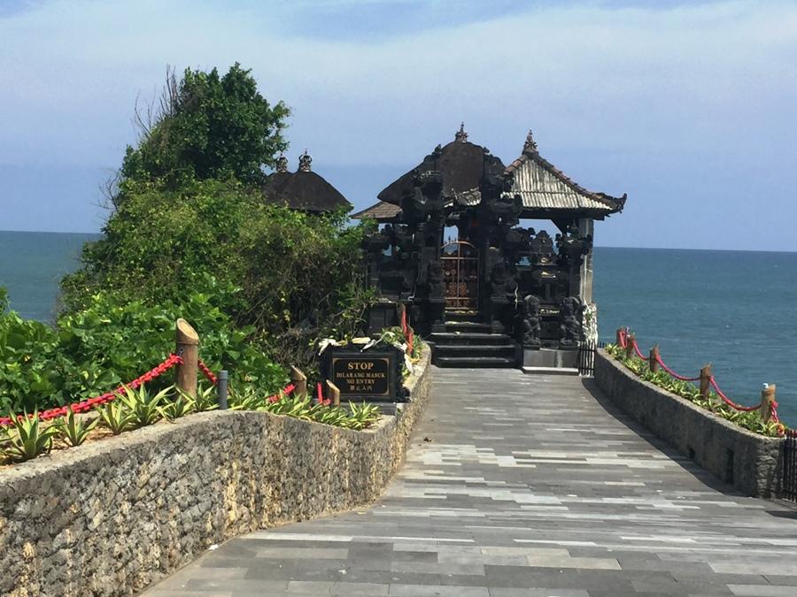 Nei pressi di Batu Bolong