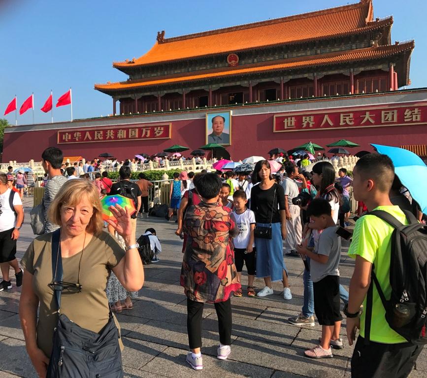 Pechino Mausoleo di Mao Tze Tung