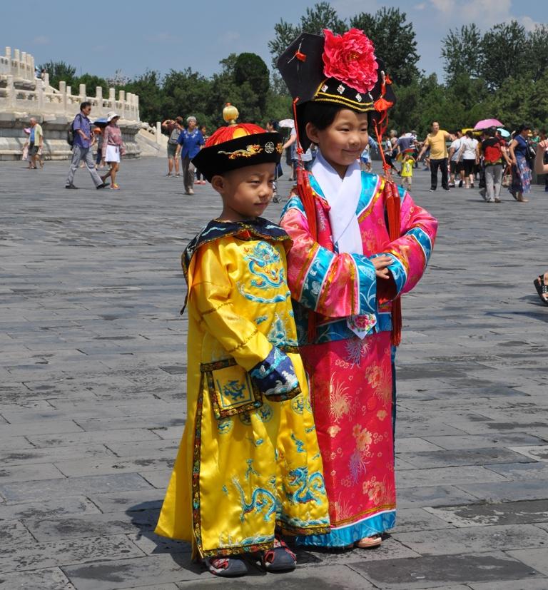 Bambini al Tempio del Cielo