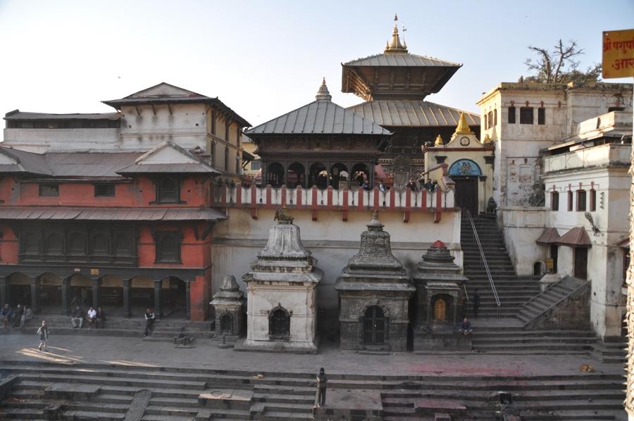 Kathmandu Tempio Pashupatinath