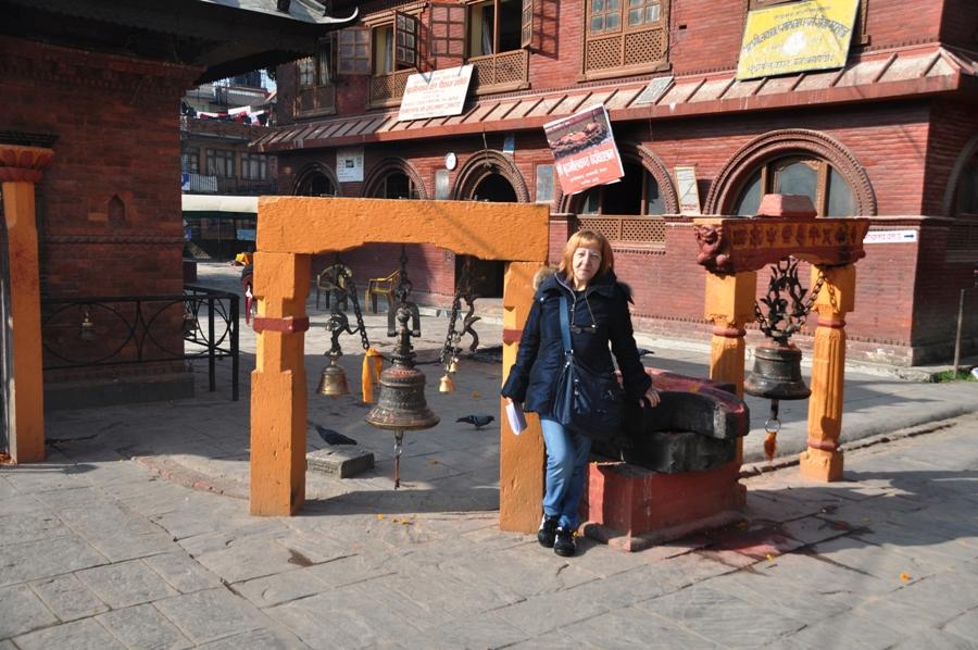 Kathmandu campane di preghiera