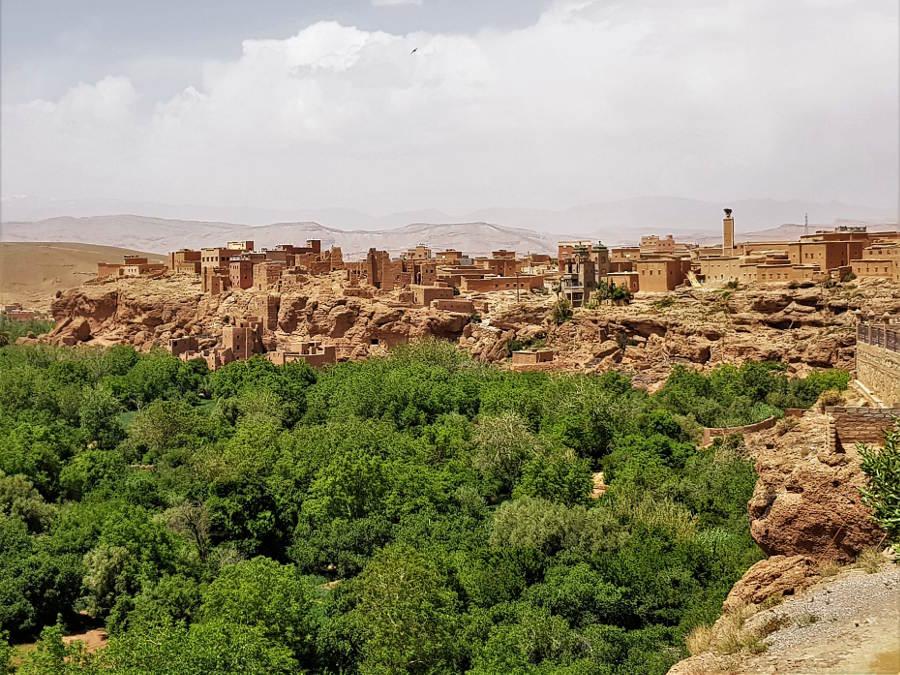 Paesaggi a Kelaat M Gouna