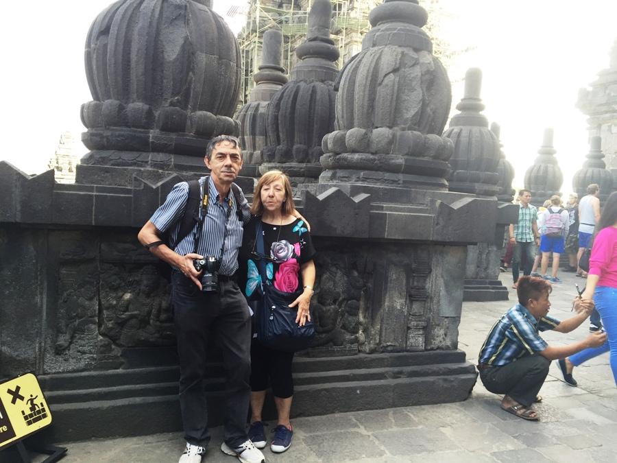 Nonni Avventura a Prambanan