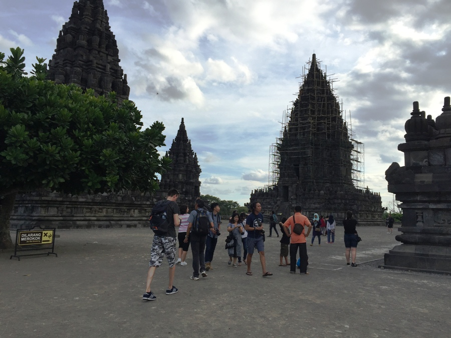 Prambanan Templi in restauro