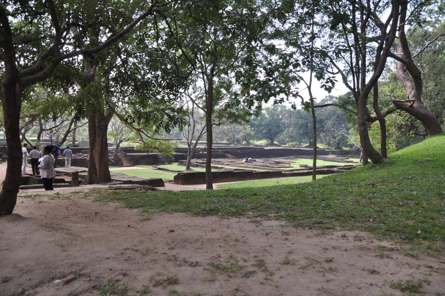 Rocca di Sigiriya giardini