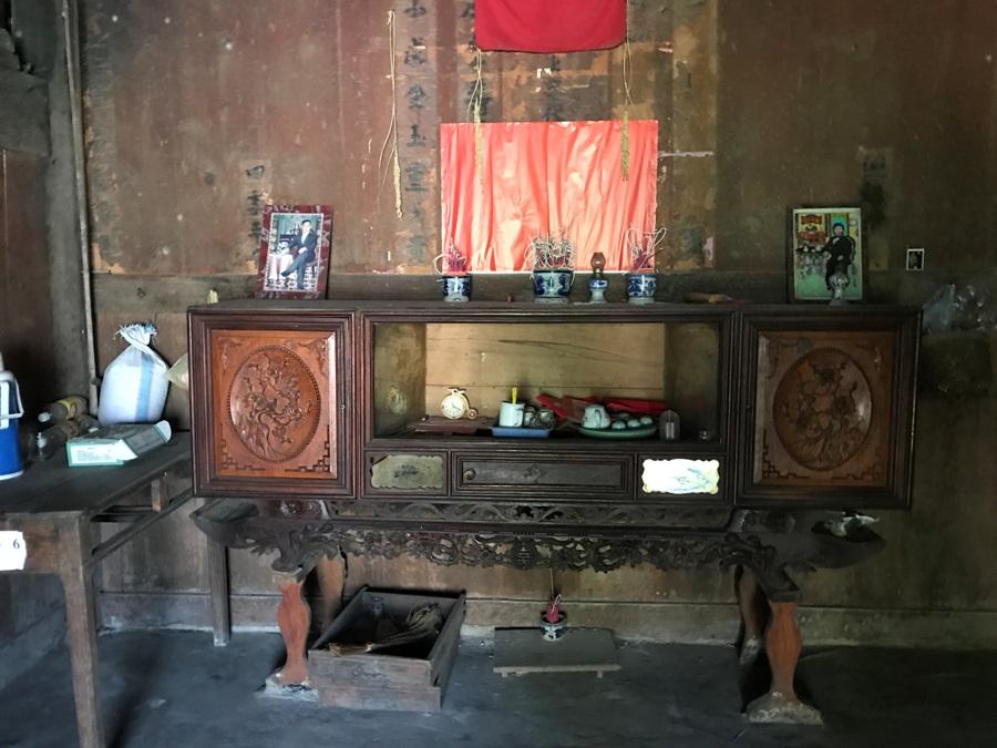 Casa in un villaggio etnico