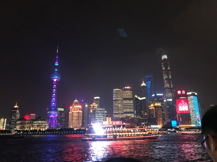Shangai The Bund by Night