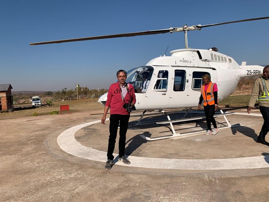 Gianni e l'elicottero