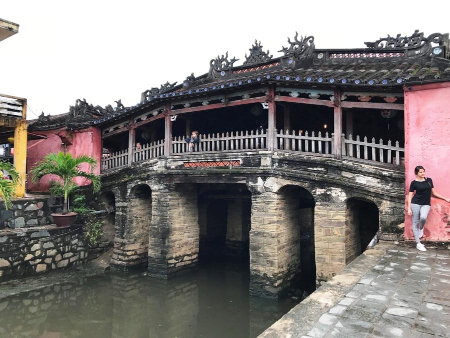 Vietnam Ponte giapponese a Hoi An