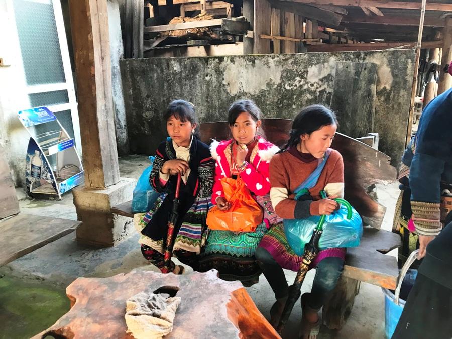 Bambine Vietnamite a Sapa