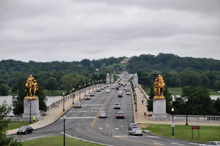Washington DC Ponte sul Potomac