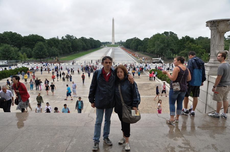 Washington DC La reflecting pool