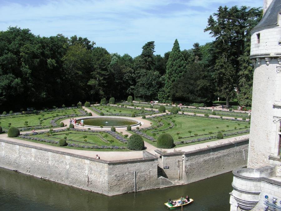 Giardini del Castello di Chenonceau
