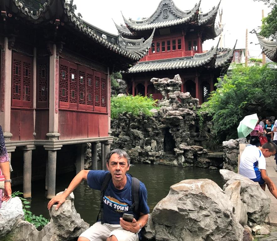 cine fai da te Shangai Yu garden