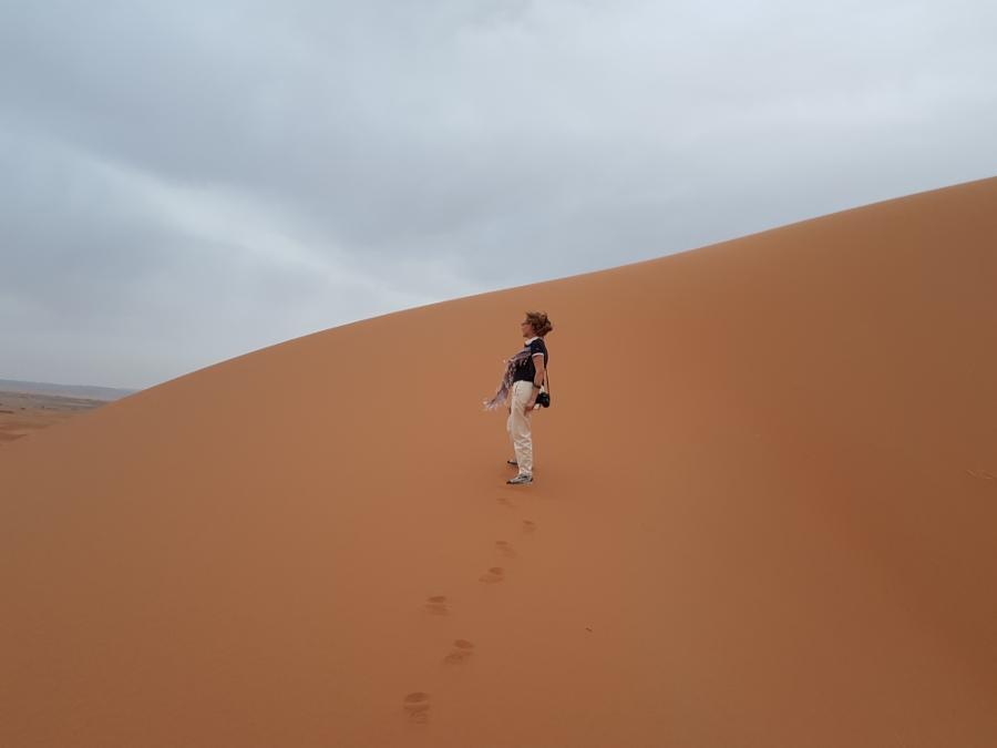 Dune del Deserto di Merzouga Marocco del Sud