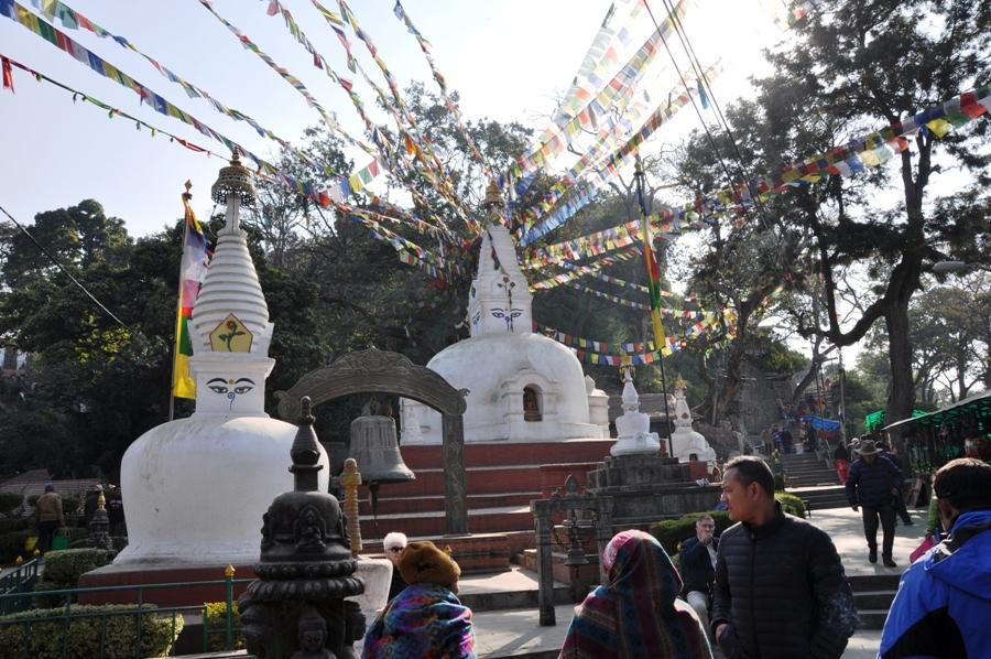Kathmandu Stupa Shyambhunath