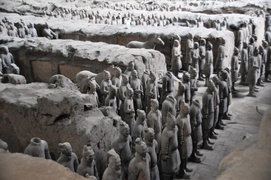 Statue dell'Esercito di Terracotta