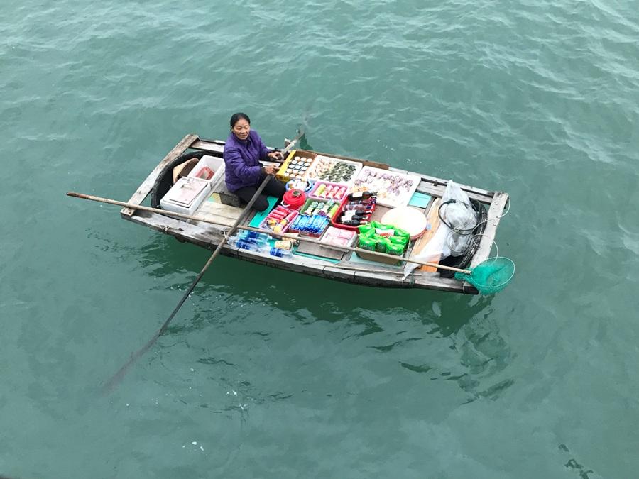 La venditrice ambulante