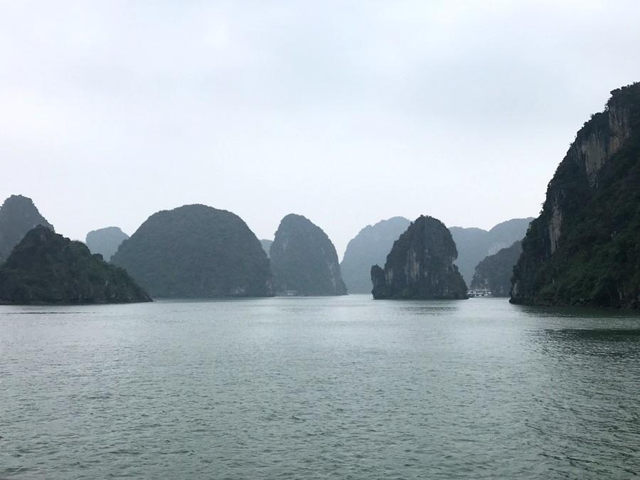 Vista della Baia di Lan Ha