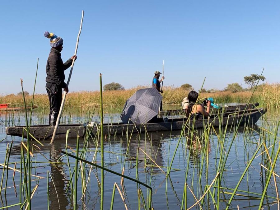Navigazione dell'Okavango
