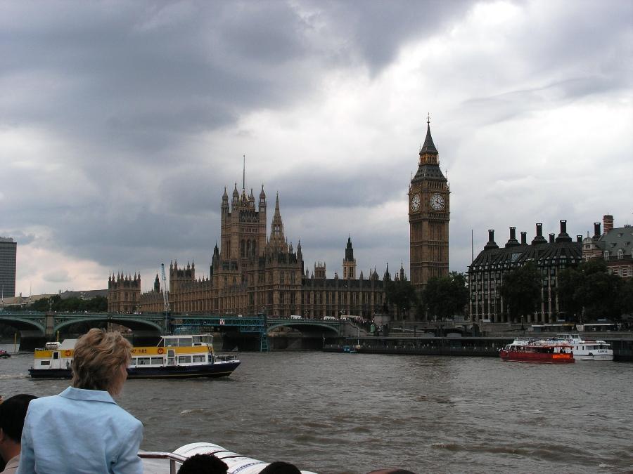 Londra Vista del Palazzo di Westminster