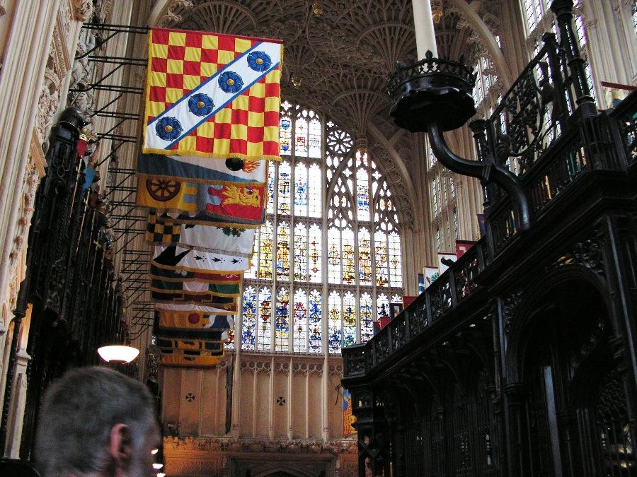Interno della Abbazia di Westminster