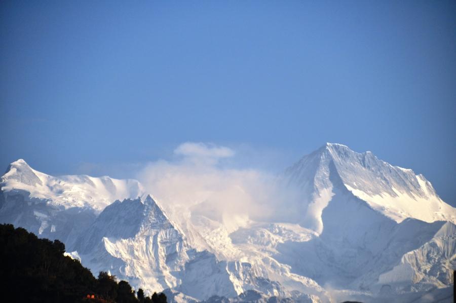 Nepal Montagne dell'Himalaya