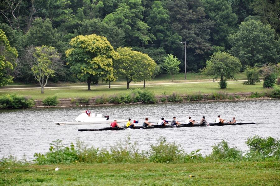 Imbarcazioni sul fiume Delaware