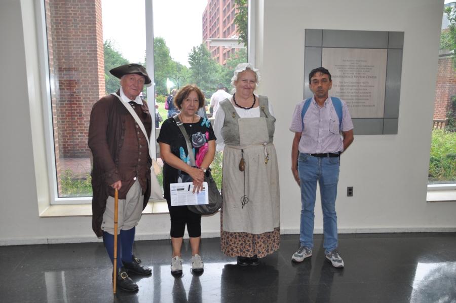 Personaggi in costume dell'epoca