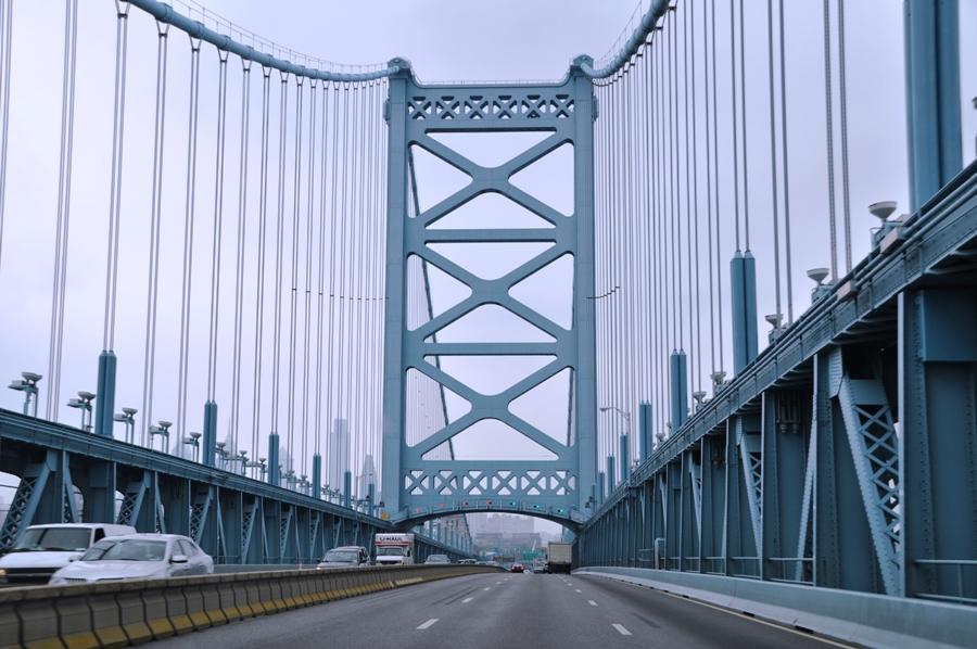 Ponte sul fiume Delaware