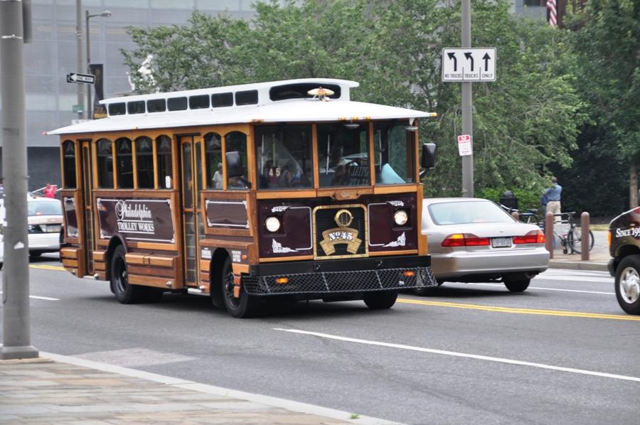Un tram a Philadelphia
