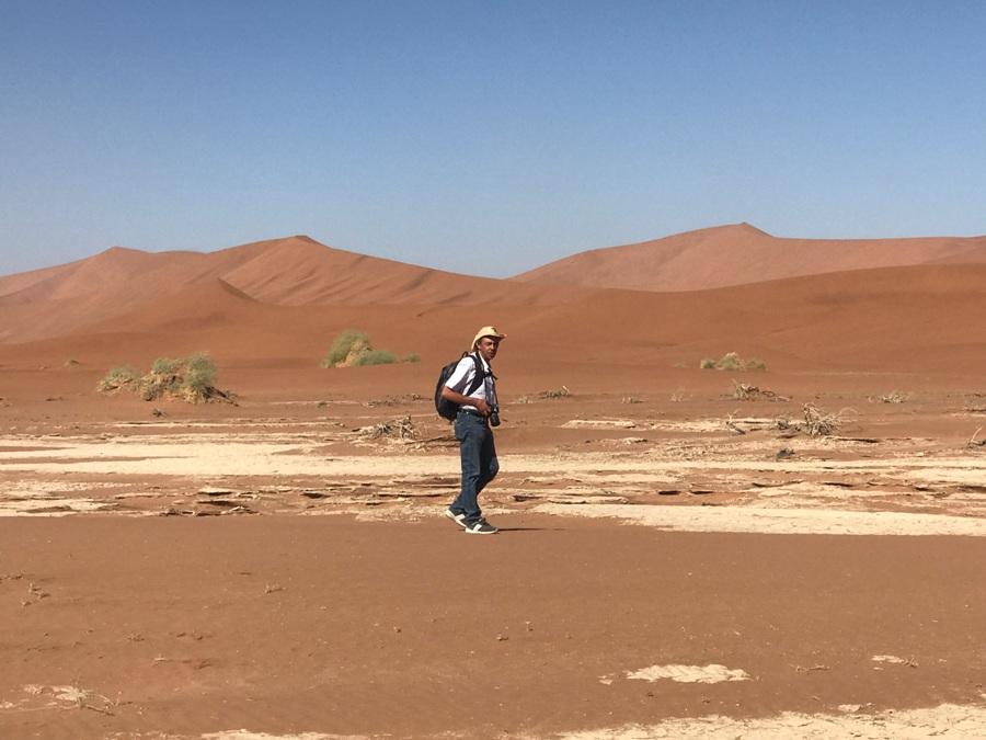 Passeggiando nel deserto