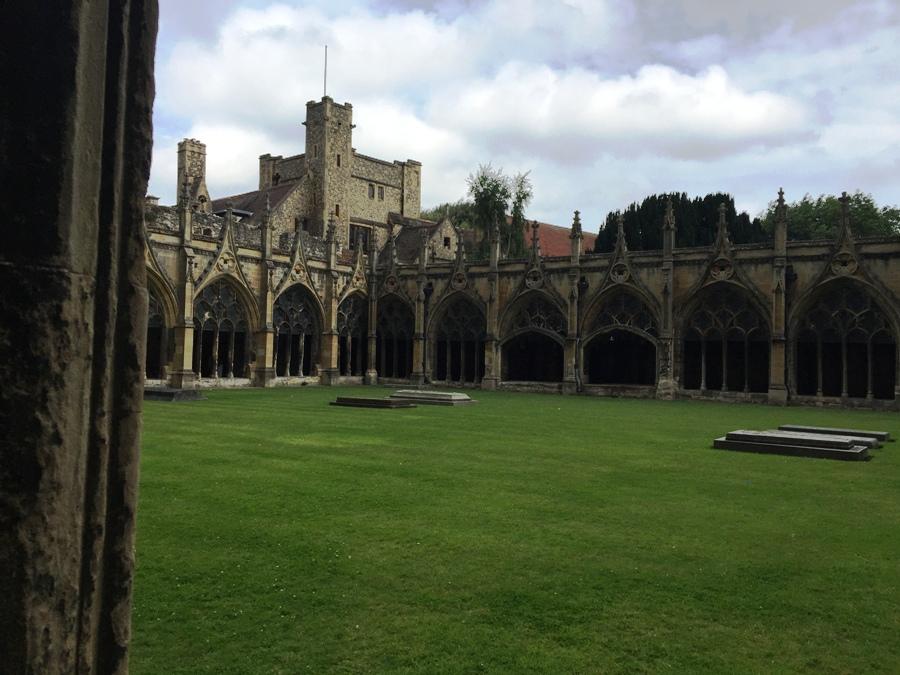 Chiostro della Cattedrale Canterbury