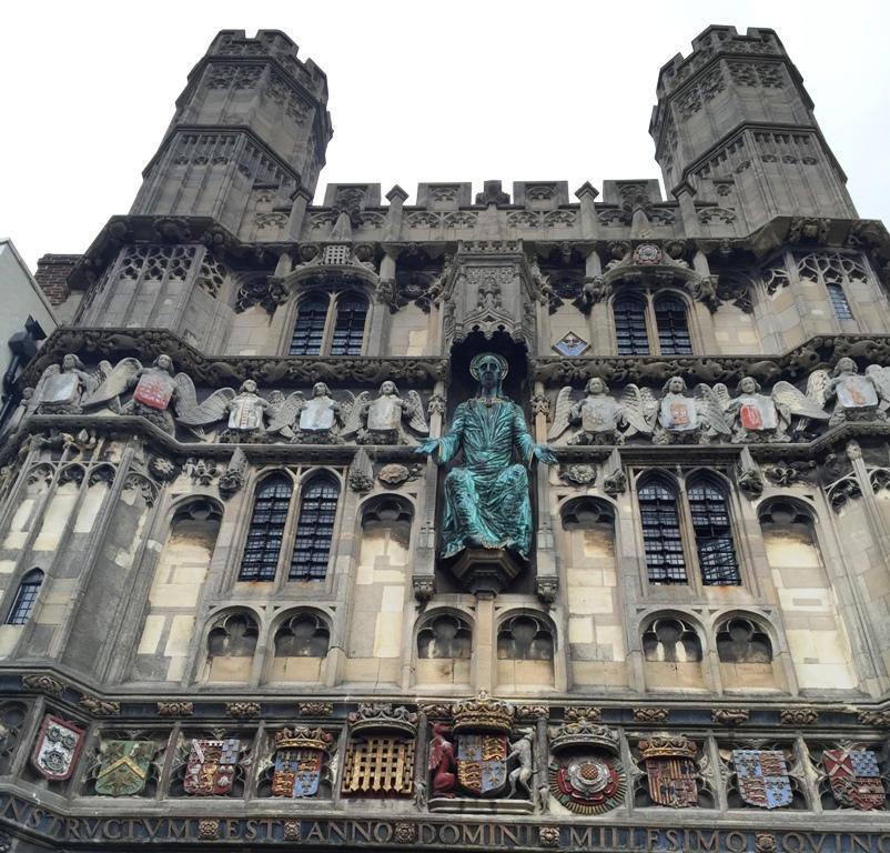 Dettaglio Cattedrale di Canterbury