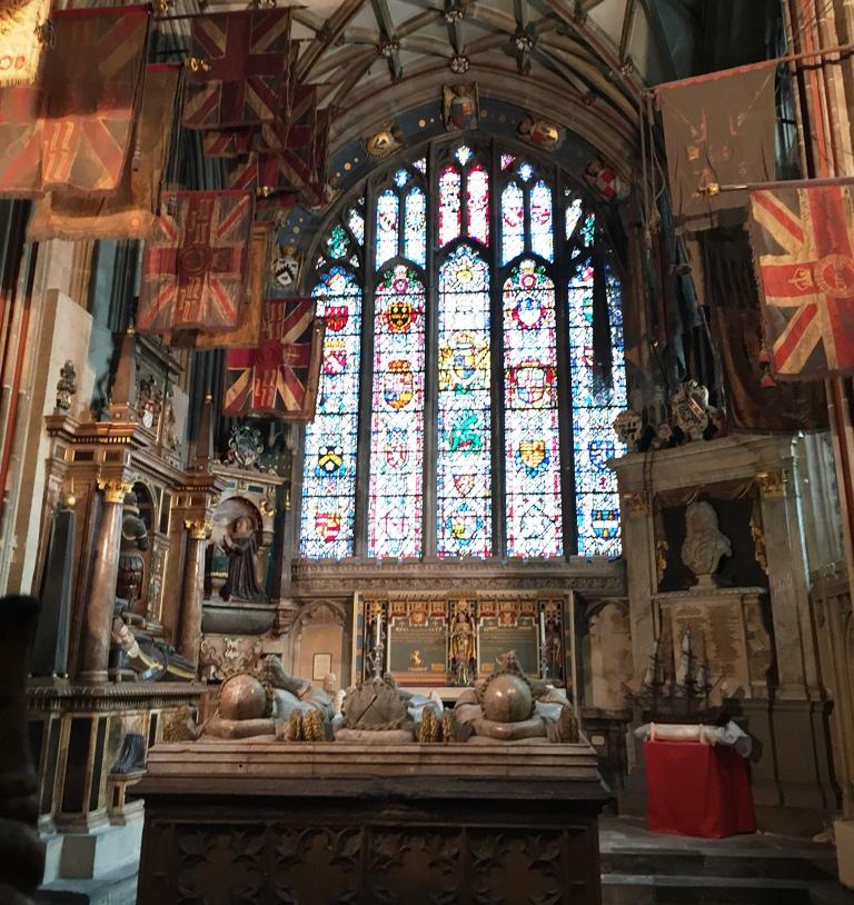 Interno della Cattedrale di Canterbury