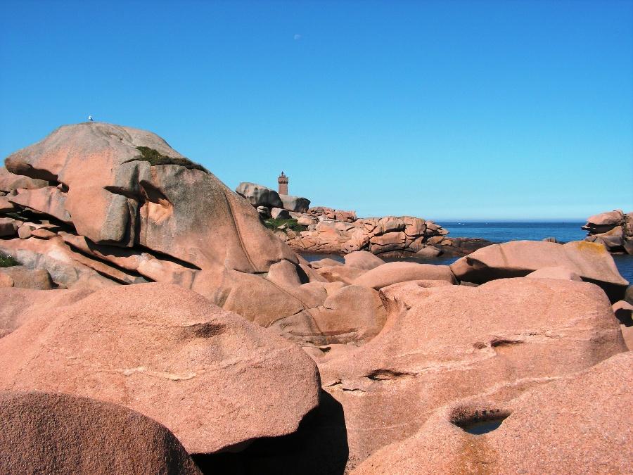 La costa di granito rosa