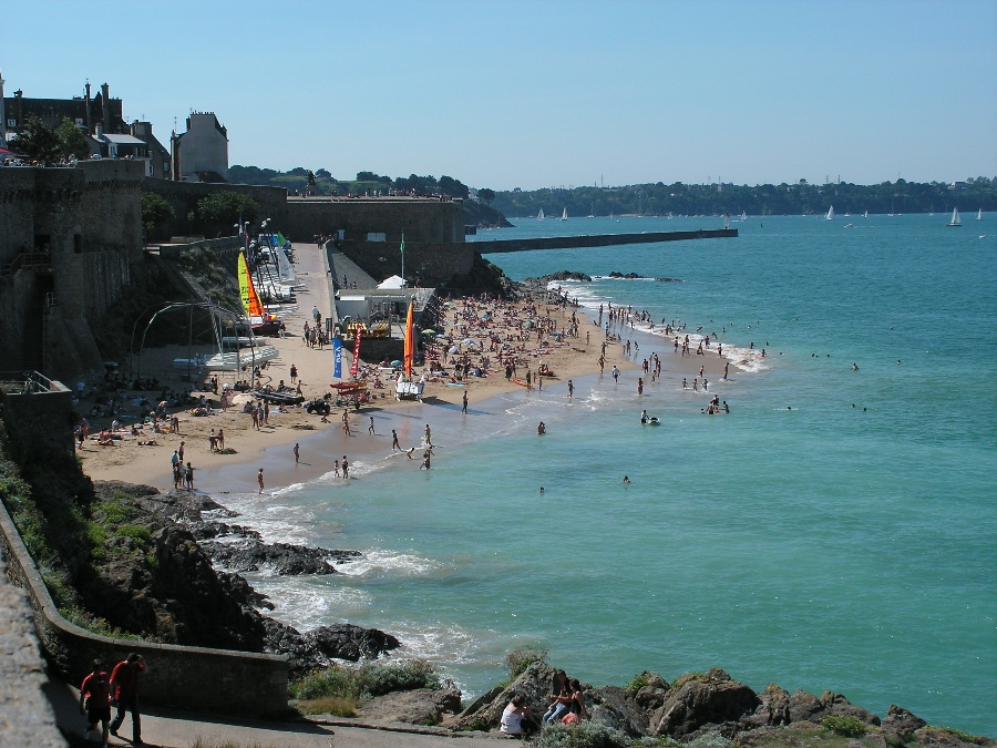 Cose da vedere in Bretagna Saint Malo Spiaggia