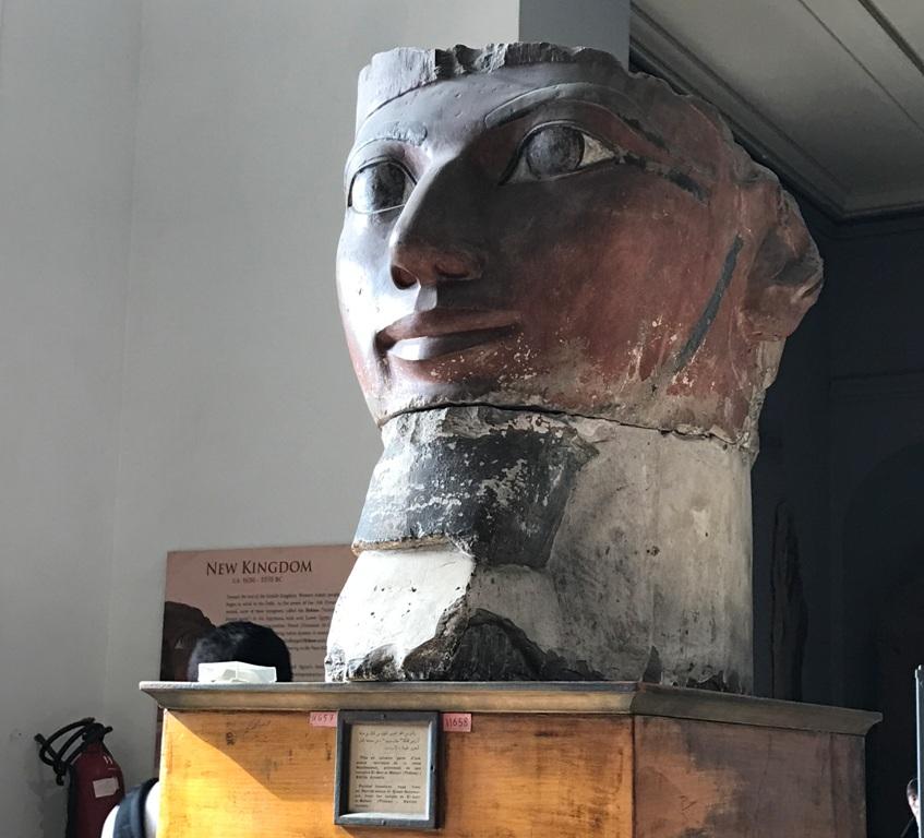 Statua nel Museo Egizio del Cairo