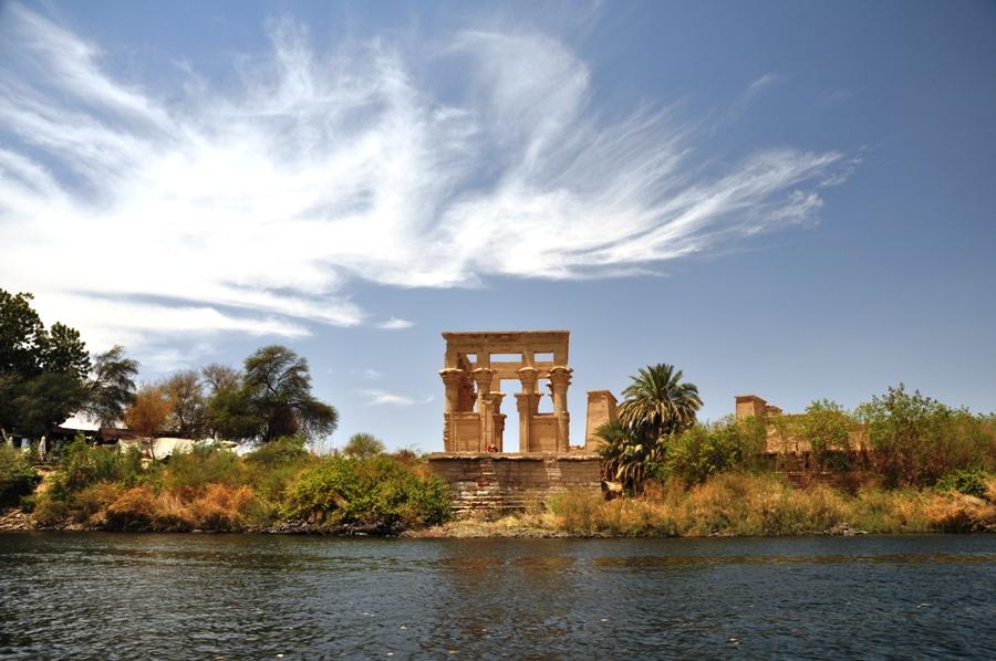 Panorama del Tempio di Philae