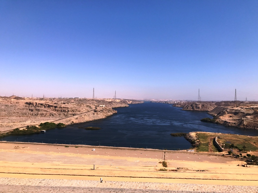 La Diga di Assuan in Egitto