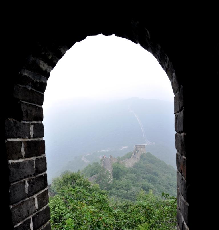 Panorama dall'interno della torre