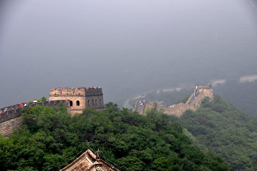 Vista della Grande Muraglia