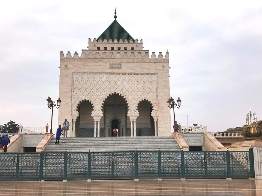 Mausoleo di Hassan II a Rabat