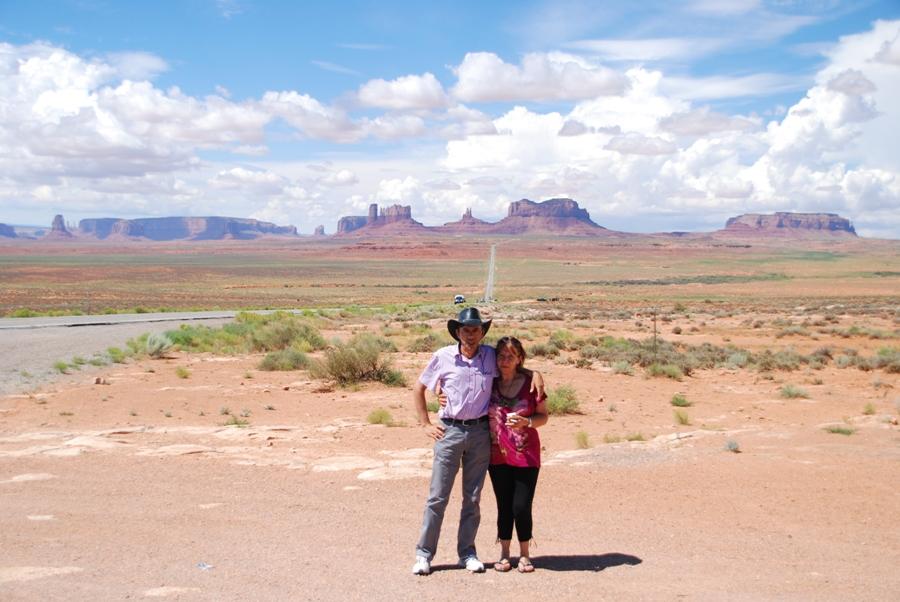 Viaggio on the road negli USA La Monument Valley