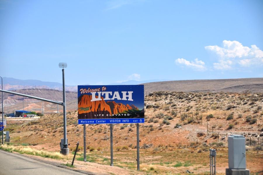 Viaggio on the road negli USA Benvenuti nello Utah