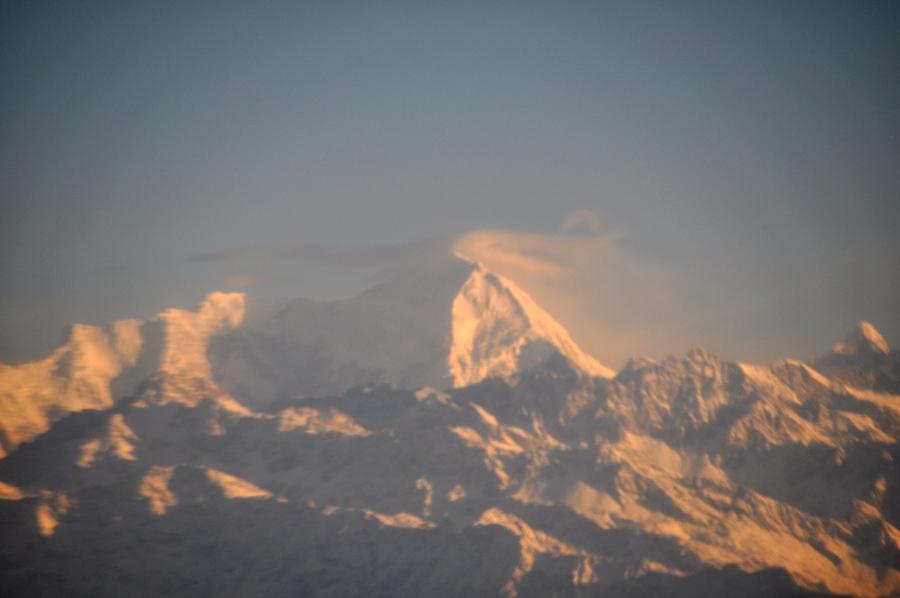 Volo sull'Himalaya Montagne