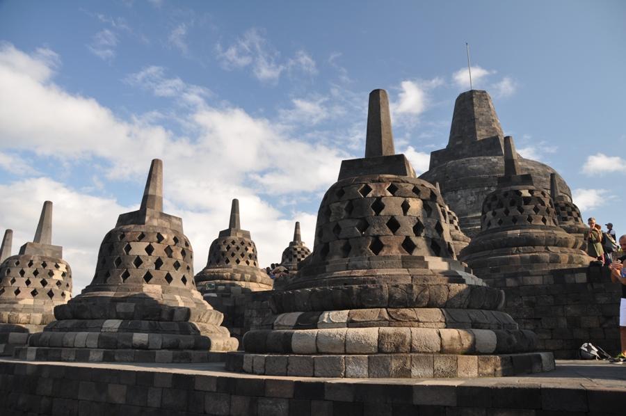 Stupa a Borobudur
